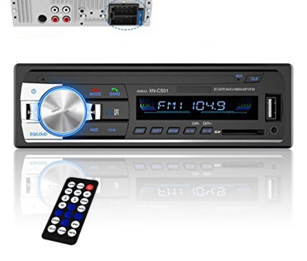 Multimedia Player Car Radio for Pioneer Stereo Subwoofer SD Player Fm Tuner 1.din Radio Cassette Recorder With Bluetooth Adapter