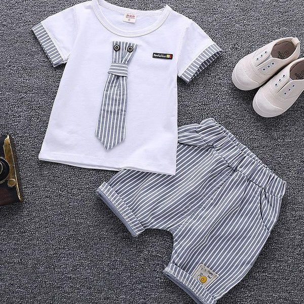 Children Clothing Set Baby Boy Clothes Summer Cartoon 2018 New Kids Cotton Cute Sets Baby Boy Outfit Costumes Baby Clothing Set