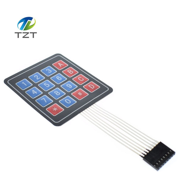 1PCS 16 Key 4 x 4 Membrane Switch Keypad 4x4 4*4 Matrix Array Matrix keyboard for GREATZT smart car