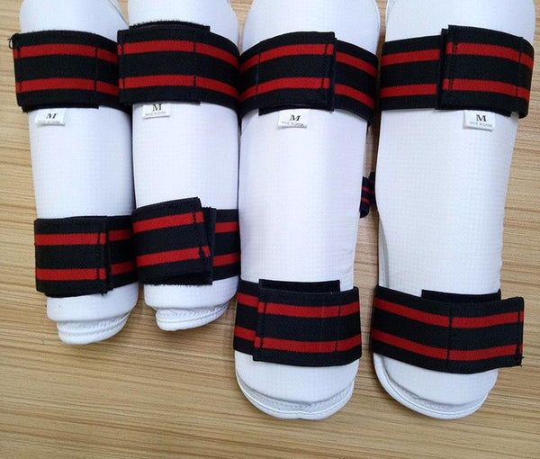 Taekwondo WTF ITF Protector 4pcs/set High Quality Foream Arm Guard Legging Geer For Fighting Kicking Boxing Karate Equipment Kid