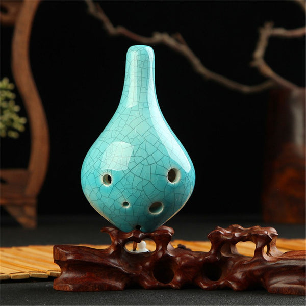 High Quality Ceramic Pottery Ocarina Flute Zelda Alto C AC Vintage Ceramics Professional Musical Woodwind Orff Instrument