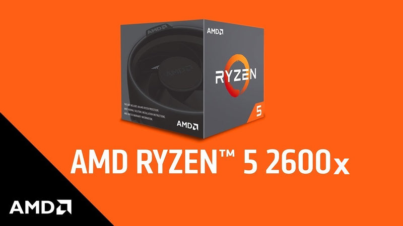 NEW Gaming PC RYZEN 5 2600X 4.2GHz, SSD 480GB, 8GB DDR5 Graphics, RAM 8GB DDR4