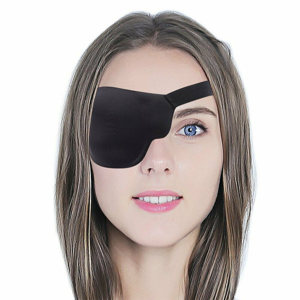 3D Eye Patch With Elastic Strap Treat Lazy Eyes Amblyopia Strabismus Right New