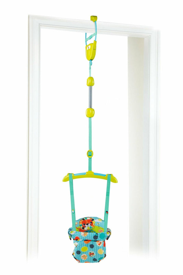 Baby Door Jumper Swing Bouncer Adjustable Baby Infant Safari Toy Padded Seat New
