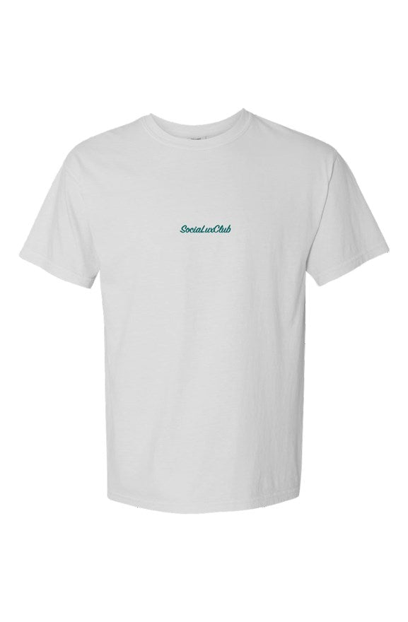 Classic SociaLuxClub Embroidered T-Shirt