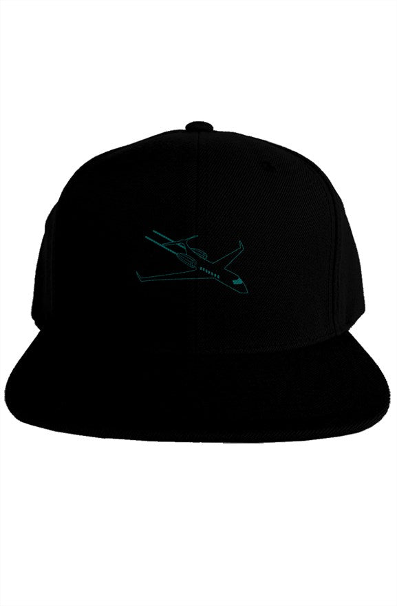 Private Jet Icon Snapback