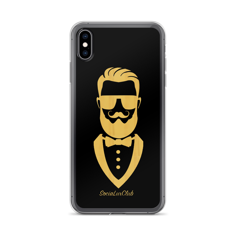 Gentleman Icon iPhone Case