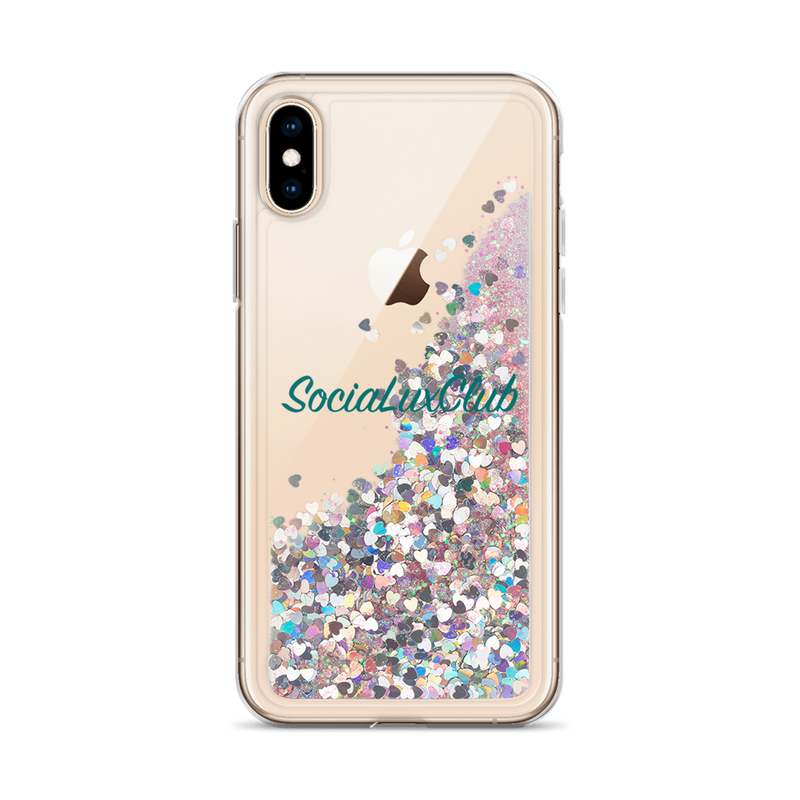 SociaLuxClub Liquid Glitter Phone Case