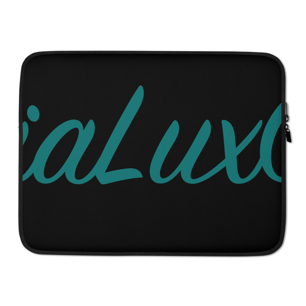 SociaLuxClub Black Laptop Sleeve