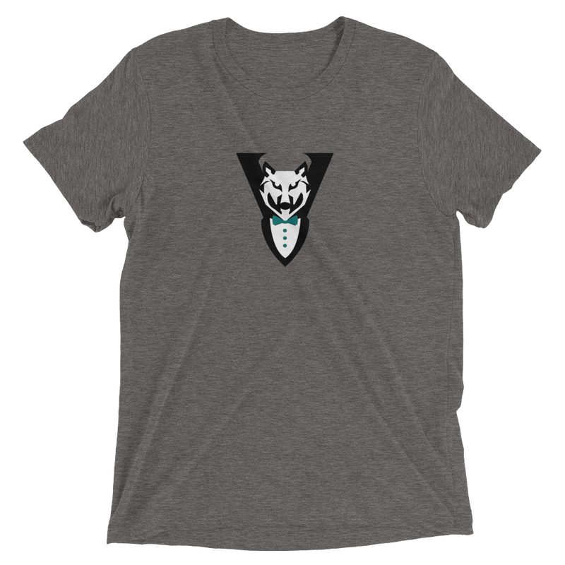 Wolf Tuxedo Icon Short Sleeve T-Shirt