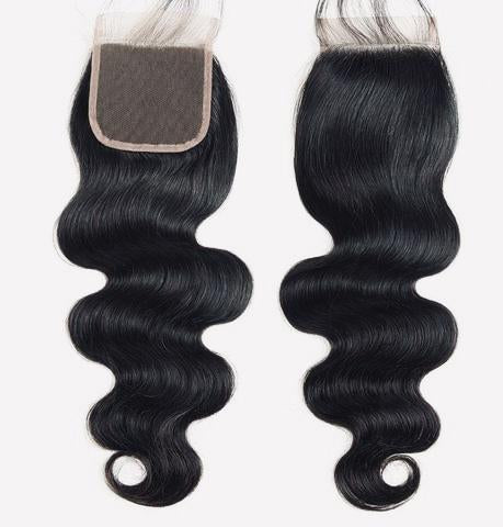 Premium virgin closure Body wave