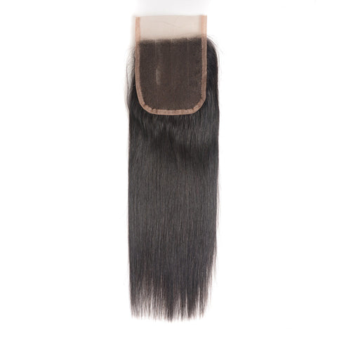 Premium virgin closure straight