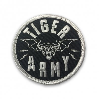 Tiger Army - Tiger Bat Embroidered Patch