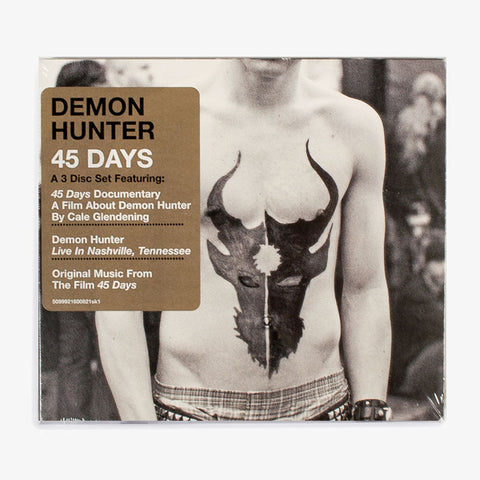 Demon Hunter - 45 Days 3xCD | Merch Connection - Metal, hardcore, punk, pop punk, rock, indie, and alternative band merchandise