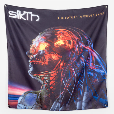 SikTh - Album Art Wall Flag | Merch Connection - Metal, hardcore, punk, pop punk, rock, indie, and alternative band merchandise