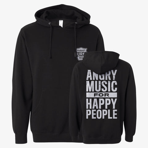 August Burns Red - Angry Music Hoodie | Merch Connection - Metal, hardcore, punk, pop punk, rock, indie, and alternative band merchandise