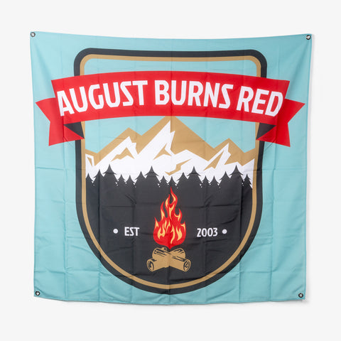 August Burns Red - Scenic Route Wall Flag | Merch Connection - Metal, hardcore, punk, pop punk, rock, indie, and alternative band merchandise