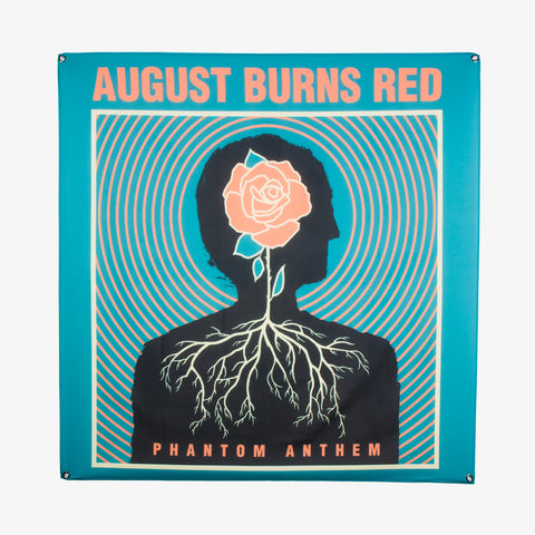 August Burns Red - Phantom Anthem Wall Flag