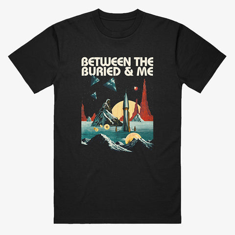 Between the Buried and Me - Arrival Shirt | Merch Connection - Metal, hardcore, punk, pop punk, rock, indie, and alternative band merchandise