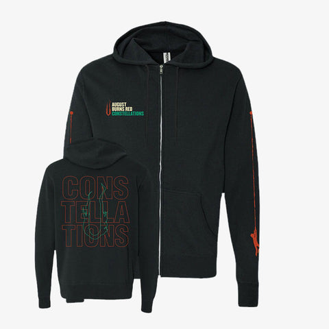August Burns Red - Constellations Zip-Up | Merch Connection - Metal, hardcore, punk, pop punk, rock, indie, and alternative band merchandise
