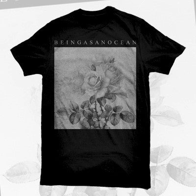 Being As An Ocean - Roses Shirt (American Apparel) | Merch Connection - Metal, hardcore, punk, pop punk, rock, indie, and alternative band merchandise