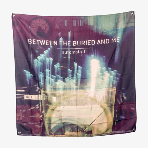Between the Buried and Me - A-II Wall Flag | Merch Connection - Metal, hardcore, punk, pop punk, rock, indie, and alternative band merchandise