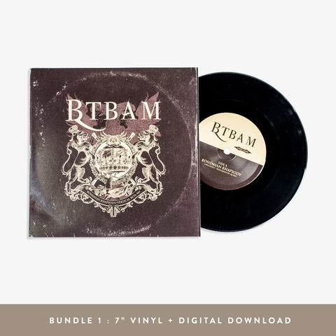 "Between the Buried and Me - Bohemian Rhapsody 7"" Vinyl 