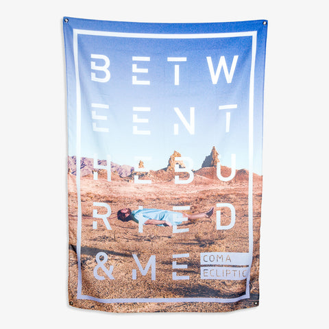 Between the Buried and Me - Stack Wall Flag | Merch Connection - Metal, hardcore, punk, pop punk, rock, indie, and alternative band merchandise