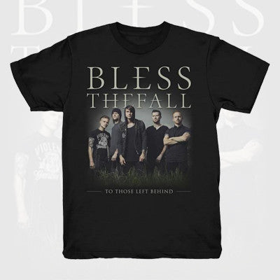 Blessthefall - Picture Shirt | Merch Connection - Metal, hardcore, punk, pop punk, rock, indie, and alternative band merchandise