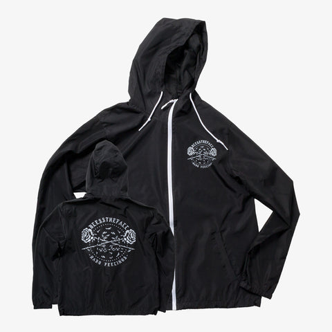 Blessthefall - Roses Zip-Up Windbreaker | Merch Connection - Metal, hardcore, punk, pop punk, rock, indie, and alternative band merchandise