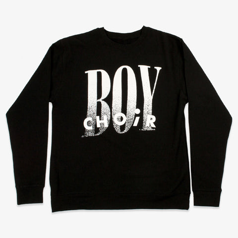 Choir Boy - CB Crewneck (Black) | Merch Connection - Metal, hardcore, punk, pop punk, rock, indie, and alternative band merchandise