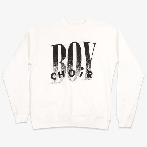 Choir Boy - CB Crewneck (White) | Merch Connection - Metal, hardcore, punk, pop punk, rock, indie, and alternative band merchandise