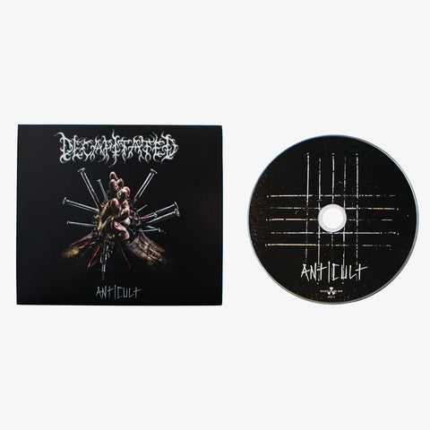 Decapitated - Anti-Cult CD | Merch Connection - Metal, hardcore, punk, pop punk, rock, indie, and alternative band merchandise