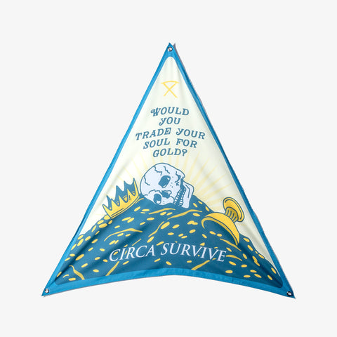 Circa Survive - Trade Your Soul Wall Flag | Merch Connection - Metal, hardcore, punk, pop punk, rock, indie, and alternative band merchandise
