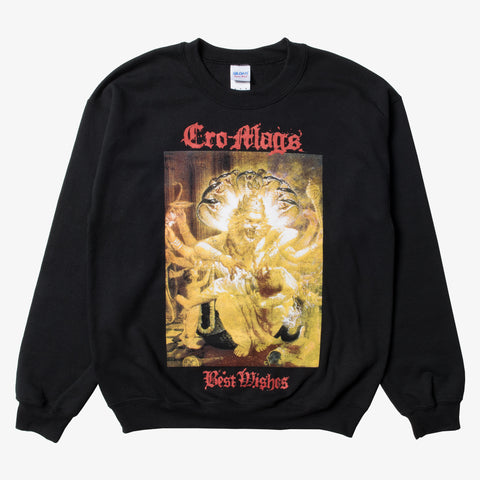 Cro-Mags - Best Wishes Crewneck | Merch Connection - Metal, hardcore, punk, pop punk, rock, indie, and alternative band merchandise