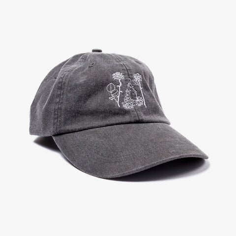 Counterparts - Flowers Dad Hat | Merch Connection - Metal, hardcore, punk, pop punk, rock, indie, and alternative band merchandise