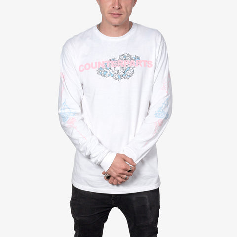Counterparts - Flowers Longsleeve Shirt | Merch Connection - Metal, hardcore, punk, pop punk, rock, indie, and alternative band merchandise