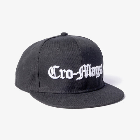 Cro-Mags - Logo Snapback Hat | Merch Connection - Metal, hardcore, punk, pop punk, rock, indie, and alternative band merchandise