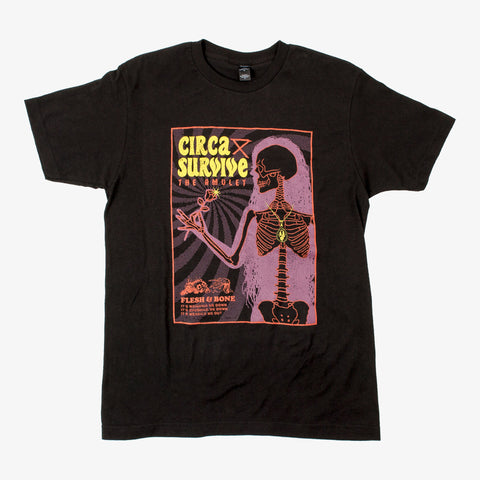 Circa Survive - Flesh and Bone Shirt | Merch Connection - Metal, hardcore, punk, pop punk, rock, indie, and alternative band merchandise