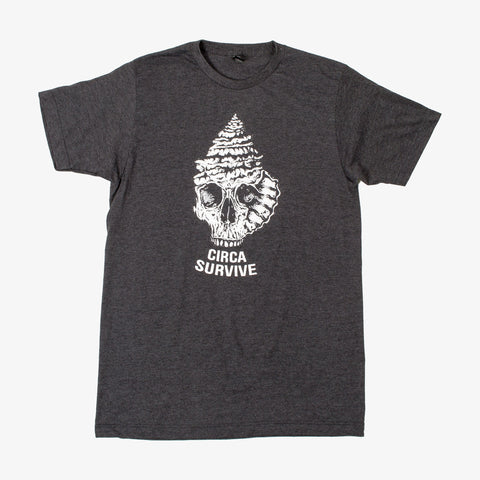 Circa Survive - Shell Skull Shirt | Merch Connection - Metal, hardcore, punk, pop punk, rock, indie, and alternative band merchandise