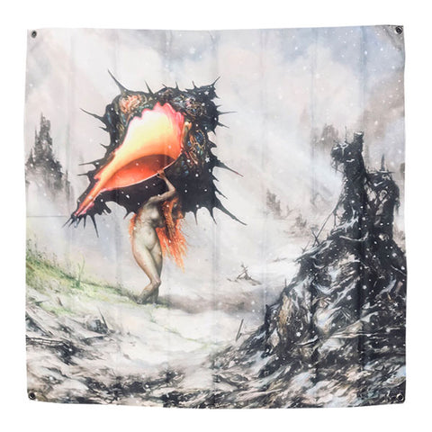 Circa Survive - The Amulet Wall Flag | Merch Connection - Metal, hardcore, punk, pop punk, rock, indie, and alternative band merchandise