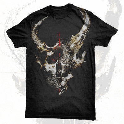 Demon Hunter - Extremist Album Art Shirt (Black) | Merch Connection - Metal, hardcore, punk, pop punk, rock, indie, and alternative band merchandise