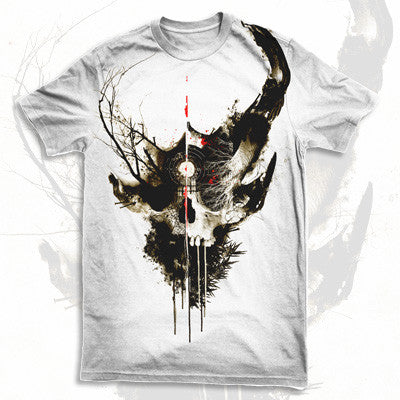 Demon Hunter - Extremist Shirt (White) | Merch Connection - Metal, hardcore, punk, pop punk, rock, indie, and alternative band merchandise