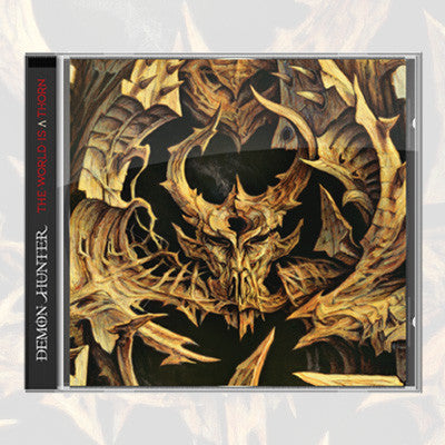 Demon Hunter - The World Is A Thorn CD | Merch Connection - Metal, hardcore, punk, pop punk, rock, indie, and alternative band merchandise