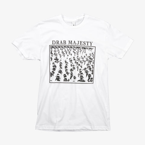 Drab Majesty - Guy Debord Shirt (White) | Merch Connection - Metal, hardcore, punk, pop punk, rock, indie, and alternative band merchandise