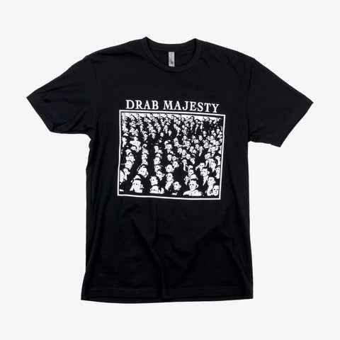 Drab Majesty - Guy Debord Shirt (Black) | Merch Connection - Metal, hardcore, punk, pop punk, rock, indie, and alternative band merchandise