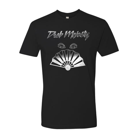Drab Majesty - Fan Eyes V2 Shirt | Merch Connection - Metal, hardcore, punk, pop punk, rock, indie, and alternative band merchandise