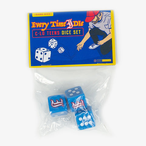 Every Time I Die - C-Lo Teens Dice Set