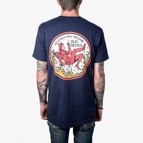 Every Time I Die - Old Devils Shirt (Navy) | Merch Connection - Metal, hardcore, punk, pop punk, rock, indie, and alternative band merchandise