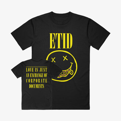 Every Time I Die - Smile Shirt | Merch Connection - Metal, hardcore, punk, pop punk, rock, indie, and alternative band merchandise
